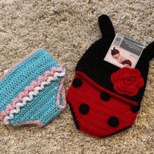 Crochet baby 2 pieces